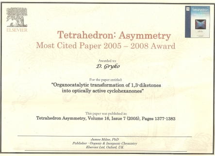 Certificate/Cover